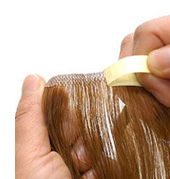 Hair Extensions - Tape In Hair